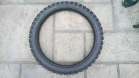 Pirelli scorpion new tyre motorbike