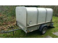 IFOR Williams P6E 6' Livestock/General Use Trailer with ramp and detachable lid