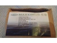 FLADEN MAXXIMUS 4/0 SEA FISHING BOAT MULTIPLIER LEVEL WIND WITH LEVER DRAG
