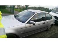 Bmw e46 2.8 compact very rare drift car for sale or swaps d