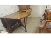 Gate Leg Table Ideal Space Saver For Christmas