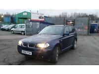2006 (06 reg) BMW X3 3.0 30d M Sport SUV 5dr FOR SALE SALE £3,950 Mot'd till 10/5/2018 + 12 MONTHS