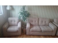 Sofa plus 2 armchairs