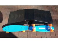 Skate Boards and Ventura Mini Airbox Launch Ramp Set