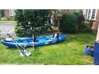 2 man fishing kayak