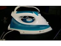 russle hobbs steam iron, cheap cheap just £10 as new used once