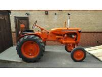 £2,500 1943 ALLIS CHALMERS B WITH TRAILER BOX INCLUDED. OR £2,000 JUST TRACTOR.