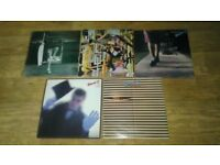 5 x brand x ( phil collins ) vinyl LP's - anything about / livestock / unorthodox / do they hurt