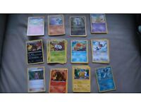 Pokemon cards bundle of 56