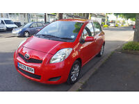 2009 Toyota Yaris 1.33 VVT-i TR 5dr 6 Speed Stop/Start Aux/Usb £30 Pound A Year Road Tax