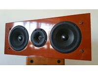 "TRIANGLE Centre Speaker ""NAOS 108"" = Audiophile REAL HIGH END - RARE Cherry Wood Finish"