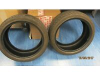 For Sale 2 x 18 inch tyres (225 40 R18) in Excellent condition.