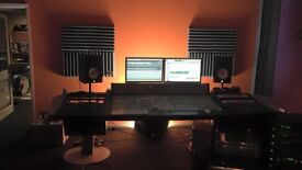 Digidesign D-Command, 24 Fader with XMon and Argosy Mirage Desk in good condition for sale