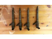 vauxhall corsa c 1.3 cdti injectors x4 spares or repairs