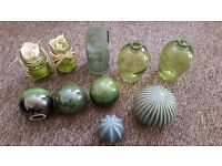 Beautiful selection of ceramic and glass ornaments (Next and Urban Outfitters)