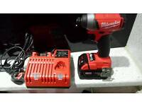 New M18FiD-0 M18 FUEL brushless Impact Driver very powerful impact torqe 203nm