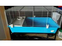 New Rabbit cage+stand on wheels