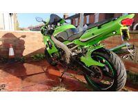 Kawasaki Ninja Zx6r 636 green