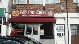 Cafe/restaurant for sale A3 licence
