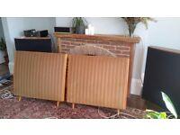Quad 'esl 57' Eleectrostatic Speakers.