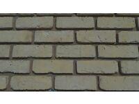 "Brick tile ""ANTIK CREME YELLOW/WHITE STRUCTURE"" ref 431,"