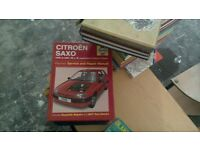 collection of Haynes books. two lots.