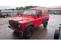 2000 LAND ROVER DEFENDER 110 PICK UP TRUCK 4X4 TD5 TURBO DIESEL