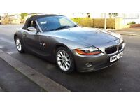 BMW Z4 2.2 SE CONVERTIBLE 2004 FULL SERVICE HISTORY IMMACULATE CONDITION HPI OBVIOUSLY CLEAR