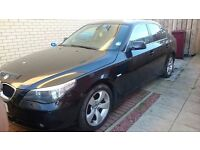 2007 BMW 520D SE AUTOMATIC BLACK full leather