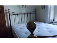 King Size Bed and Mattress All in very very good condition