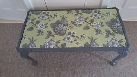 Coffee table finished in chalk paint 'steel grey'