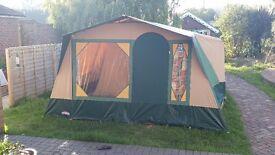 Cabanon 3 Berth Canvas Frame Tent