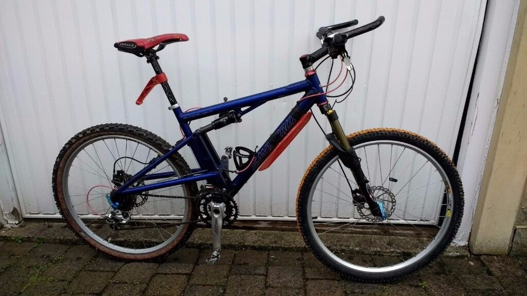 Santa Cruz Superlight Mountain Bike, Custom Made, Medium frame ...