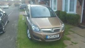 Vauxhall Zafira exclusiv 1.6 7 seater