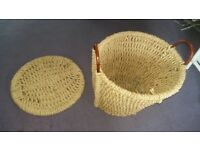 Harrods Washing Basket / General Use Basket