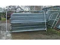 Heras fence panels new