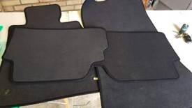 Set of car mats