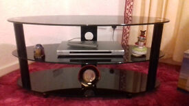 TV/DVD/SET TOP BOX UNIT - Tempered Glass - strong and elegant too - NOW £15!!! - Motherwell