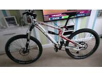 Lapierre spicy 216 full suspension swap for fishing gear