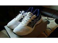 Asics mens trainers never worn