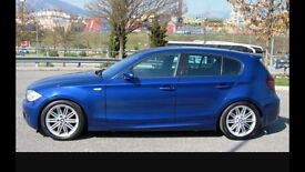 BMW 1 SERIES MSPORT- DIESEL- FULL LEATHER- HEATED SEATS - EXCELLENT CONDITION--
