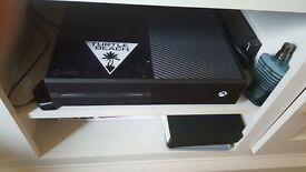 Xbox one with games x2 controllers etc
