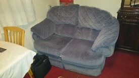 2 x 2 seater recliner sofas