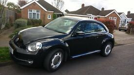 Black VW Beetle Design 2.0 TDi (110PS)