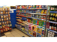 A1 News Agent/Grocery Shop on a busy main road with a very good footfall, plus 4 Hugh rooms included