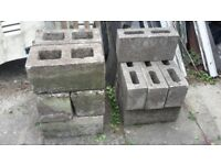 Breeze blocks 9 small (440 x 140 x 210) 6 large (440 x 210 x 220)