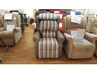 Ex-Display Repose Rimini Dual Motor Riser Recliner/Lift & Tilt Chair, Delivery Available