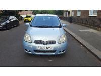 2005 toyota yaris 1.3 blue 5dr hatchback AUTO petrol MOT April2019 full service history 2keys