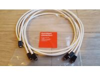 Coaxial cables 3 x 1,5 m
