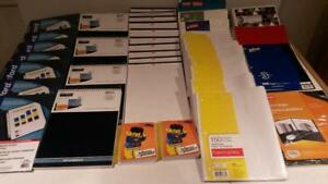 38 ASSTD or more Sheet Paper Stationary School Supplies $45 AS IS CONSUMER NEW GOODS LOT